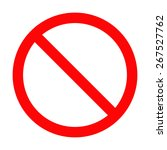 traffic signs | Shutterstock .eps vector #267527762