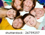 a team of happy young people.... | Shutterstock . vector #26759257
