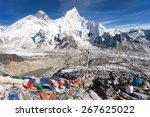 View Of Mt. Everest  Lhotse An...