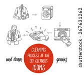 dry cleaning and laundress...