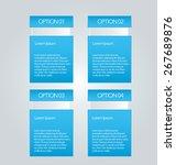 business infographics template... | Shutterstock .eps vector #267689876