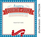 fourth of july | Shutterstock .eps vector #267706106