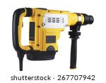 professional rotary hammer with ... | Shutterstock . vector #267707942