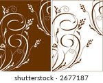 Refined and beautiful. Ideally for your use - stock vector