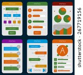 set of templates mobile...