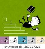 career.  business illustration  ... | Shutterstock .eps vector #267727328
