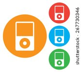 portable media player icon....