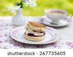 afternoon tea   Shutterstock . vector #267735605