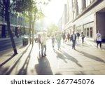 People Bokeh Street London - Fine Art prints