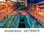 abstract modern art industrial... | Shutterstock . vector #267764675