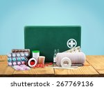 first aid kit  first aid ...   Shutterstock . vector #267769136