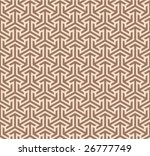 vector seamless ornament | Shutterstock .eps vector #26777749