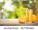 orange juice  juice  orange. | Shutterstock . vector #267784682