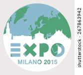 expo label. | Shutterstock .eps vector #267863942