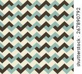 geometric pattern seamless.... | Shutterstock .eps vector #267890792