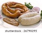 weisswurst breakfast   Shutterstock . vector #26790295