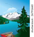 mountain landscape | Shutterstock .eps vector #26791660