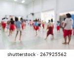 abstract of blurred children in ... | Shutterstock . vector #267925562
