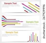 modern design minimal style... | Shutterstock .eps vector #267929996