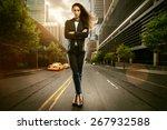 successful businesswoman | Shutterstock . vector #267932588