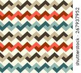 geometric pattern seamless.... | Shutterstock .eps vector #267937952