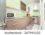bright kitchen full of light | Shutterstock . vector #267941132