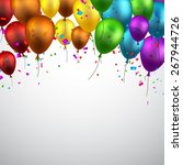 celebration background with... | Shutterstock .eps vector #267944726