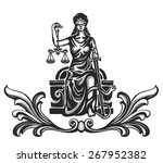 femida   lady justice   graphic ...
