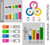 illustaration of different... | Shutterstock . vector #267957152