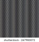 seamless pattern of metal mesh  ... | Shutterstock .eps vector #267983072
