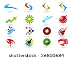company icon. such logos | Shutterstock .eps vector #26800684