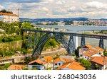 Maria Pia Bridge In Porto ...