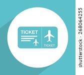 airport signs design  vector... | Shutterstock .eps vector #268064255