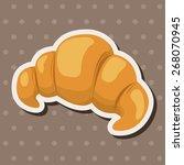 bread theme elements  | Shutterstock .eps vector #268070945