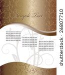 vector fantasy design | Shutterstock .eps vector #26807710
