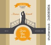 Vintage Wedding Invitation Wit...