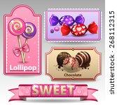 sweet lable | Shutterstock .eps vector #268112315