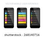vector mobile user interface...