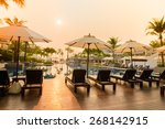 bed pool   vintage filter effect | Shutterstock . vector #268142915
