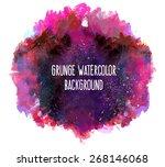 vector illustration  abstract... | Shutterstock .eps vector #268146068