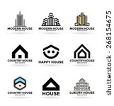 buildings. real estate  12  | Shutterstock .eps vector #268154675