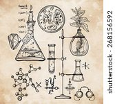 Hand Drawn Science Vintage...