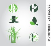 sugar cane  | Shutterstock .eps vector #268162712