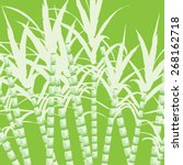 sugar cane    Shutterstock .eps vector #268162718