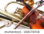 details of a violin and a...   Shutterstock . vector #268176518
