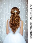 Beautiful Hairstyle Of Bride I...