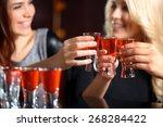 friendship forever. selective... | Shutterstock . vector #268284422