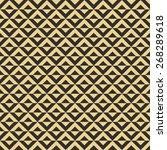 seamless antique palette op art ... | Shutterstock .eps vector #268289618
