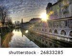 ljubljana  capitol of  slovenia | Shutterstock . vector #26833285