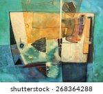 abstract artwork | Shutterstock . vector #268364288